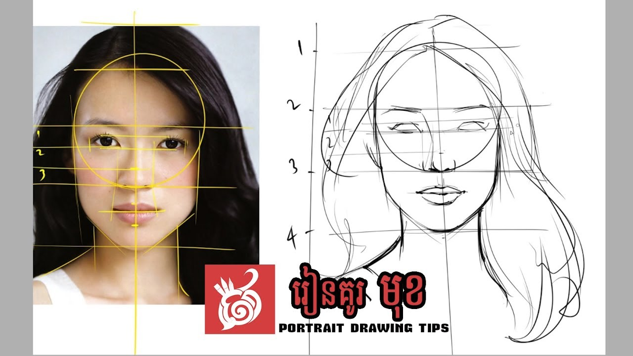 Drawing faces for beginner how to draw face best tips and step by step explained with narration