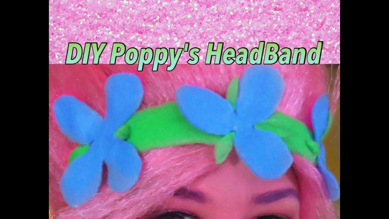 How to scrapbook like poppy - Diy Trolls Poppy Headband