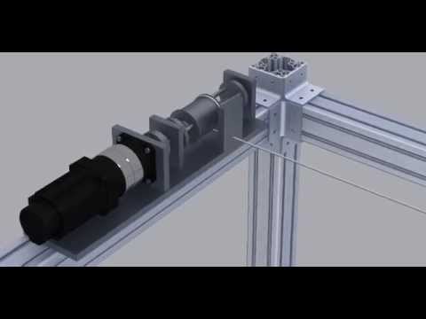Design and simulation of cable winch for KNTU CDRPM