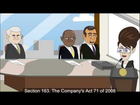 MLAW 211 Group Assignment 3 - Companies Act 71 of 2008, Section 163