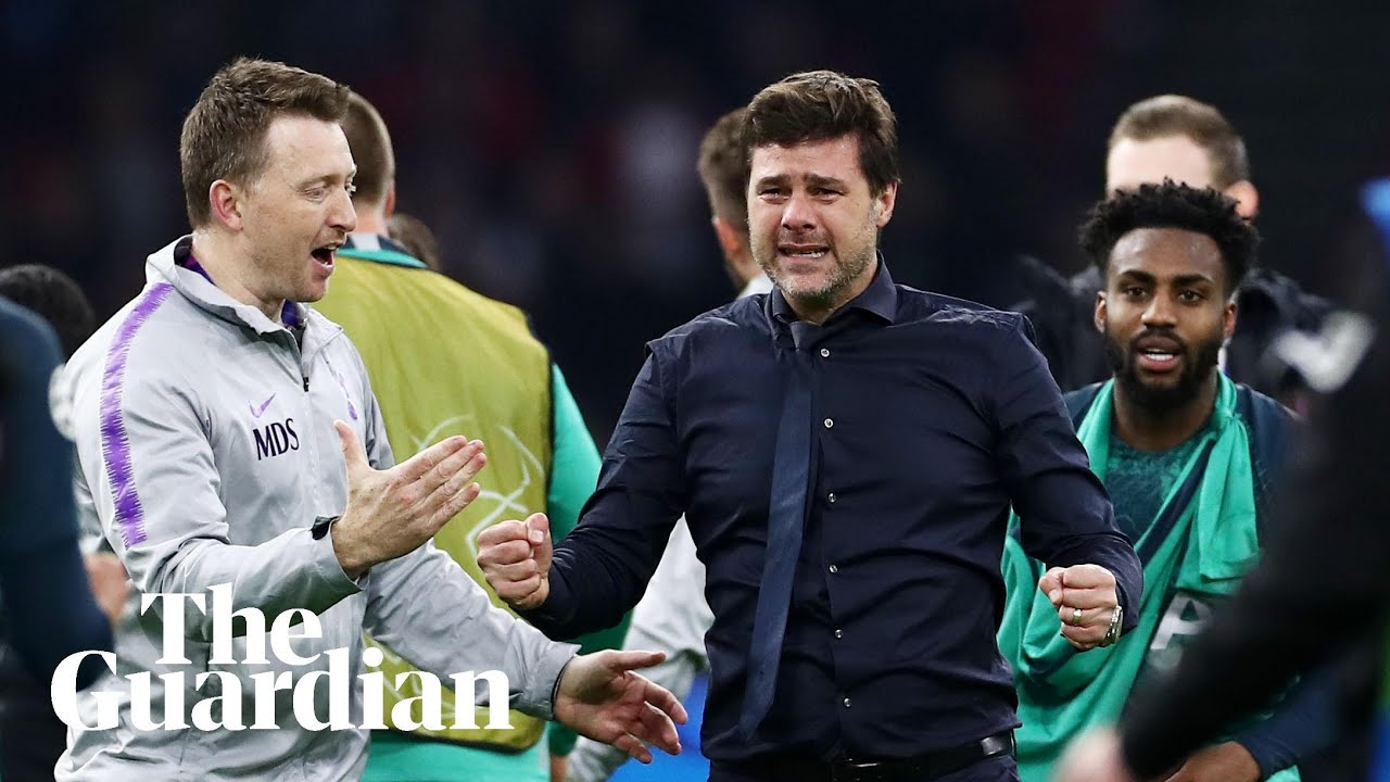 Mauricio Pochettino Credits Spurs Superheroes For Champions League Triumph Over Ajax Youtube
