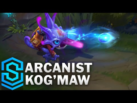 Arcanist Kog'Maw Skin Spotlight - League of Legends