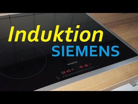 Siemens Iq300 Kochfeld Induktion Youtube