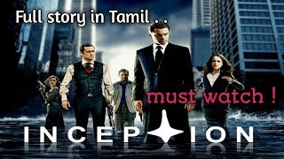 Inception (2010) | Inception full movie in tamil | Inception story explanation | Review | vel talks