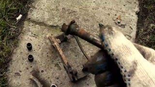 Peugeot 406  Замена тормозных колодок, тормозного диска