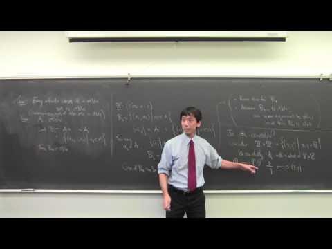 Math 131 091416 Uncountable Sets; Basic Topology