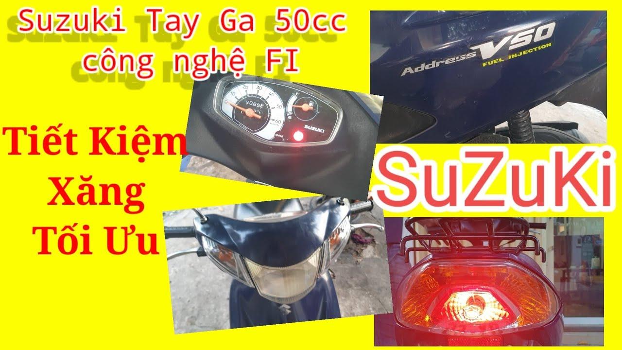 Suzuki Tay Ga 50cc công nghệ FI |khám phá Tule