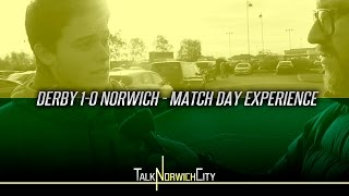 DERBY 1-0 NORWICH - MATCH DAY EXPERIENCE