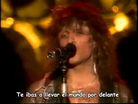 BON JOVI - Bang bang/Shot through the heart (live) (subtitulos español/sub english)
