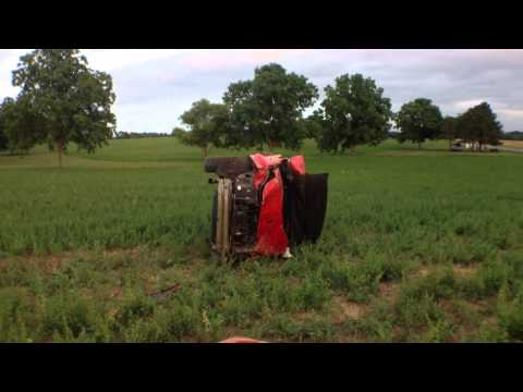 High Speed Wreck in Cedar Hill TN