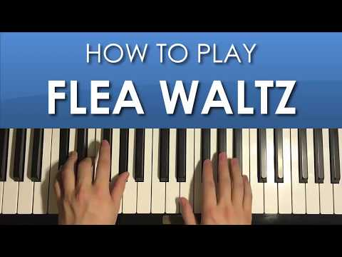 HOW TO PLAY - Flea Waltz (Flohwalzer) (Piano Tutorial Lesson)