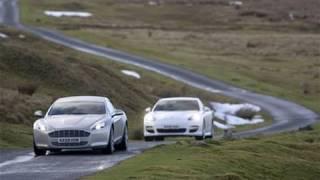 Aston Martin Rapide vs Porsche Panamera by autocar.co.uk