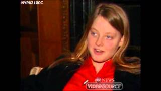 Jodie Foster press conference April 2, 1981