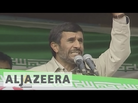 Iran elections: Ahmadinejad registers to run for president