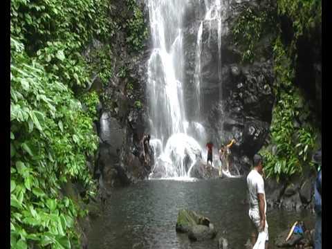 Philippines, Biliran province, Balaquid waterfalls.