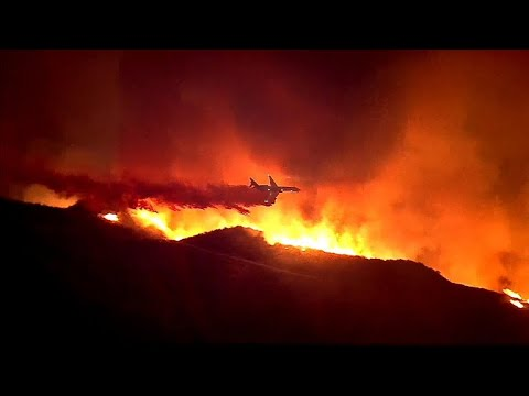California's Holy Fire prompts state of emergency