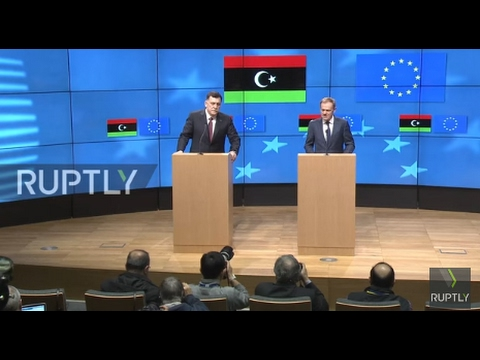 Belgium: 'It is time to close down the route from Libya to Italy' – Tusk