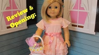 Opening & Review of American Girl Kit