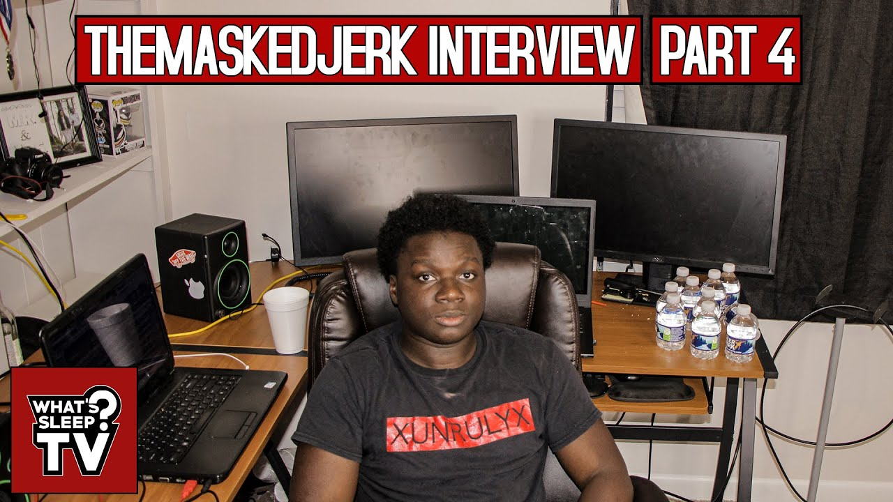 "TheMaskedJerk ""Artist Don't Really Respect Producers Even Though Producers Make Artist"""
