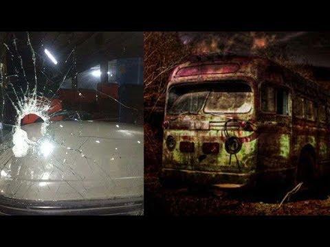 Aneh , Penampakan Bus Siluman Di Alas Roban