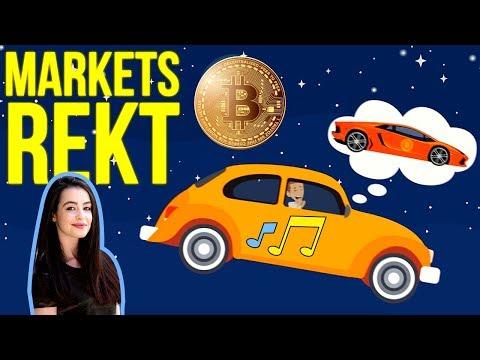 Markets REKT - Bitcoin Song (Bebe Rexha I'm a Mess, Bitcoin Remix)