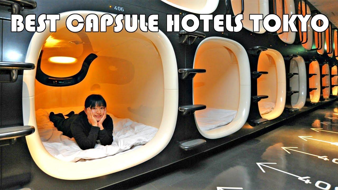 Top 10 Best Capsule Hotels Tokyo - Youtube-7142