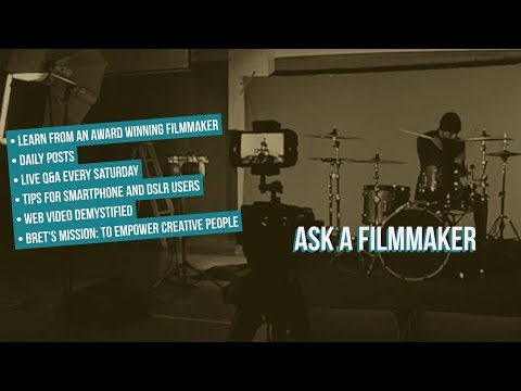 Ask A Filmmaker - How to Survive in the Age of Free Content