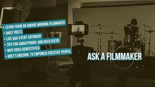 Ask A Filmmaker – How to Survive in the Age of Free Content