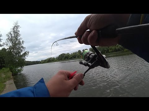 Вертушка сделала рыбалку. Ловим Окуня на вертушку. Рыбалка на Москва-реке. Практически Стритфишинг