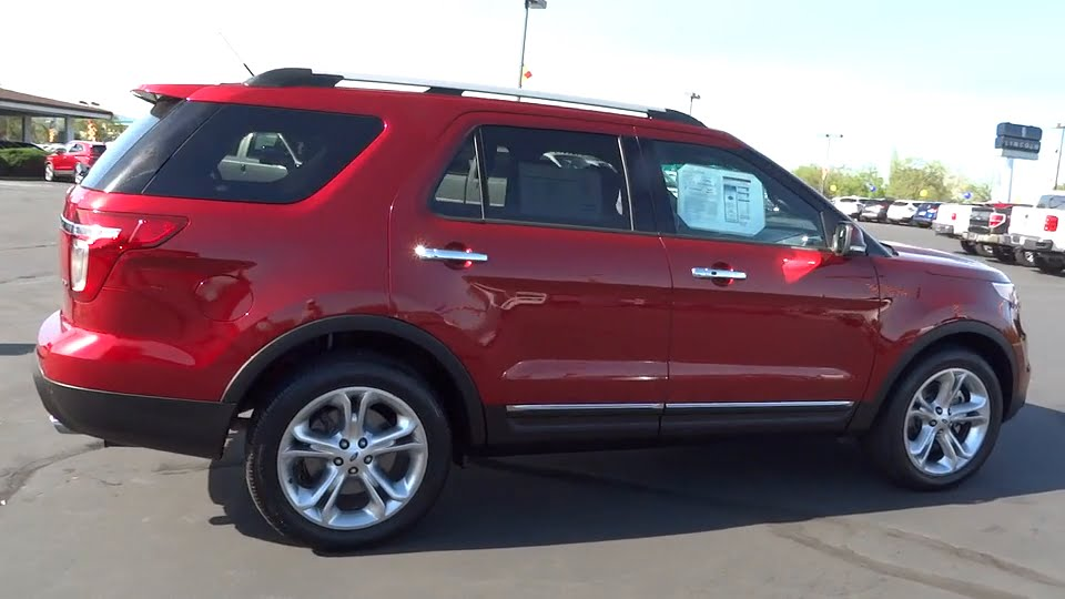 2015 ford explorer 4wd redding eureka red bluff for Crown motors ford redding