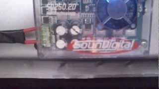 SD250.2D empurrando novo Protech Light 10