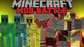 big-golem-vs-diamond-emerald-and-gold-golems-minecraft-mob-battles-mo-39-creatures-mod