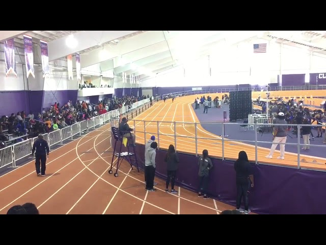 Ncincilili Titi's 200m Run at Clemson — 1/20/18