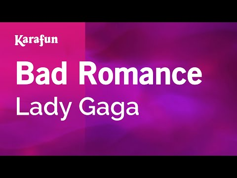 Karaoke Bad Romance - Lady Gaga *