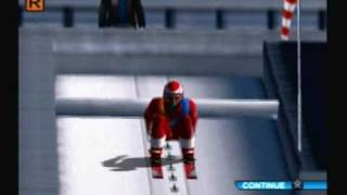 Winter Sports 2: The Next Challenge (PS2) Ski Jumping
