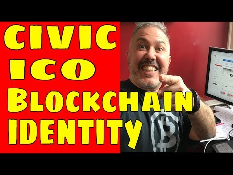 Initial Coin Offering (ICO): Civic Identity Verification Via The Blockchain