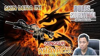 ASLI NGAWUR INI SKIN M110 ZULONG !! - Rules of Survival Indonesia