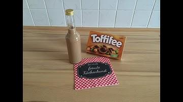Toffifee-Likör (Aldi / Quigg Küchenmaschine - Thermomix-Klon)