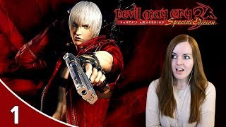 Finally A Challenge! - Devil May Cry 3 HD Dante's Awakening Gameplay Part 1
