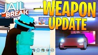 JAILBREAK NEW WEAPON UPDATE! + CITY UPDATE FULL REVIEW (Roblox)