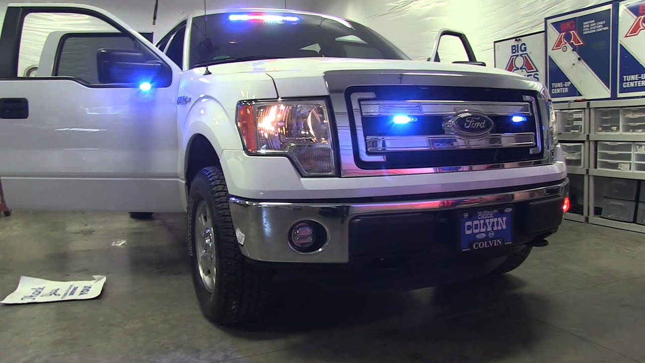 Ford F 150 Fire Chief Vehicle Installation Youtube
