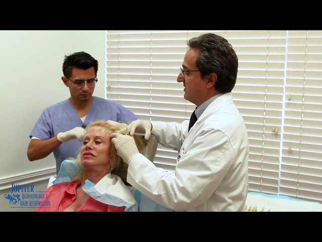 Full Process of Platelet Rich Plasma (PRP) Treatment For Hair Loss