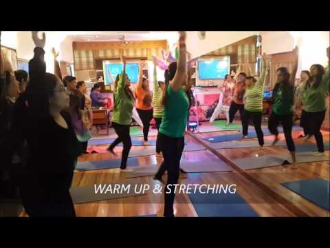 yoga para niños easy warm up cardio antas yogindu jain