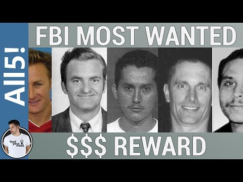 5 Of The Most Wanted Criminals!