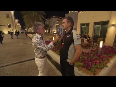 2016 Abu Dhabi - Post-Race: Andy Stevenson