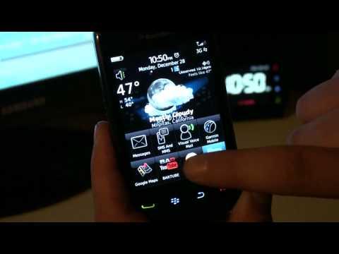 Hands on BlackBerry Storm2 Part 2