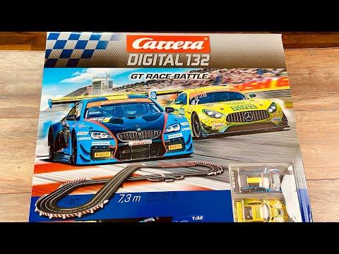 Carrera Digital 132 GT Race Battle – Test & Unboxing – AMG & BMW Slotcar Carrerabahn 20030011