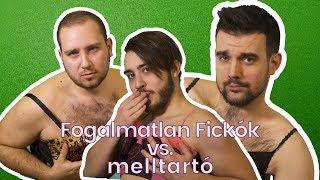 FOGALMATLAN FICKÓK VS. MELLTARTÓ 👀😅   LILULAND