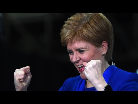 video: I'll never bet to wild swim in Loch Ness depending on an election outcome ever again