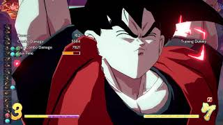 Solo Base Goku Super Spirit Bomb Combo